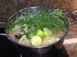 The Saucier's take on Green Pork Posole…